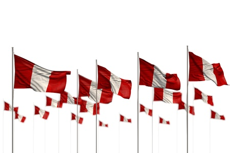 wonderful holiday flag 3d illustration