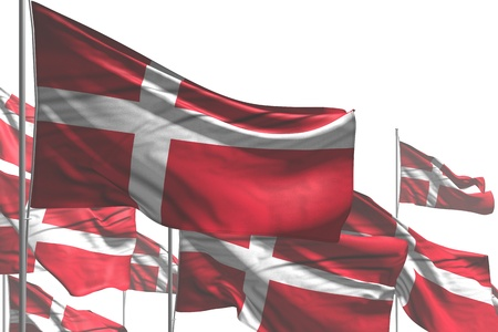 beautiful holiday flag 3d illustration