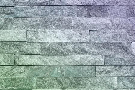 beautiful aged light blue natural quartzite stone bricks texture for design purposes.