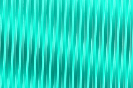 volumetric surfaces formed by extruded star shape, veterans day or new year concept - hi-tech light blue 3D Illustration of abstract background