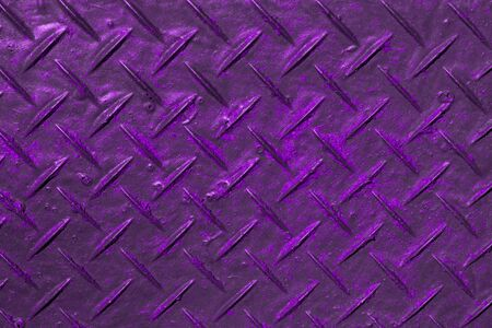 Agradable textura de goma con rayado cruzado púrpura envejecido - Foto de fondo abstracto Foto de archivo