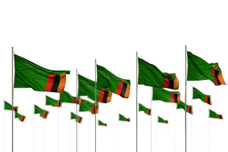 beautiful feast flag 3d illustration