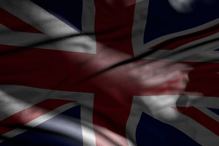 nice memorial day flag 3d illustration