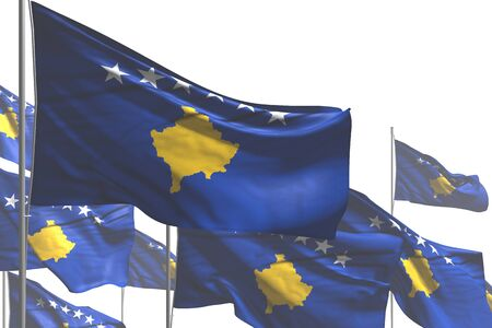 nice holiday flag 3d illustration