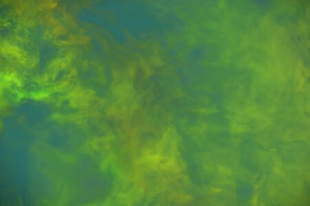 Cute heavy visionary clouds of smoke colorful background or texture - 3D illustration of smoke