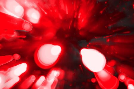 wonderful red multi colored moving city lights texture - abstract photo background
