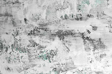 beautiful teal, sea-green very much scratched surface paint texture - abstract photo background 版權商用圖片