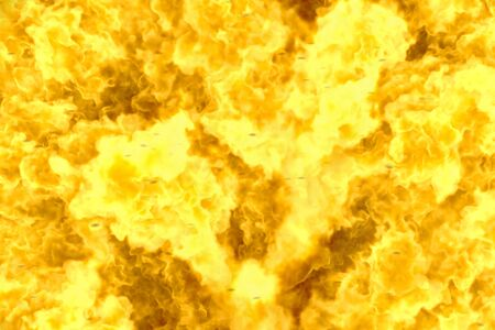 Abstract background - mystical blazing hell texture, fire 3D illustration