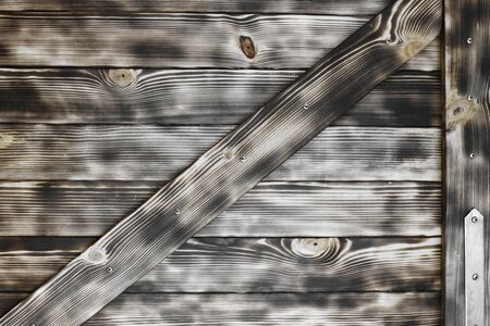 beautiful scratched and encaustic dirty creative pine door texture - abstract photo background