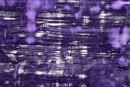 fantastic purple creative texture of hardwood with many scratches - abstract photo background