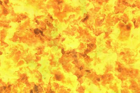 visionary melting wild fire abstract background or texture - fire 3D illustration