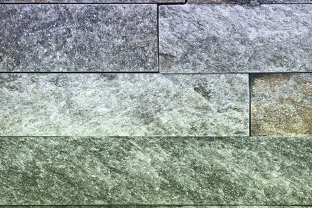 abstract old natural quartzite stone bricks texture for any purposes. 写真素材 - 129830651