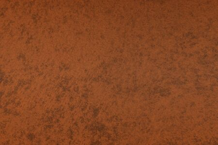 creative old red rough painted metallic surface texture for use as background. 写真素材