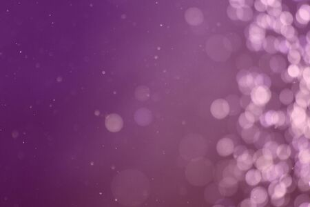 pretty purple shiny lights one side frame bokeh texture - abstract photo background Reklamní fotografie