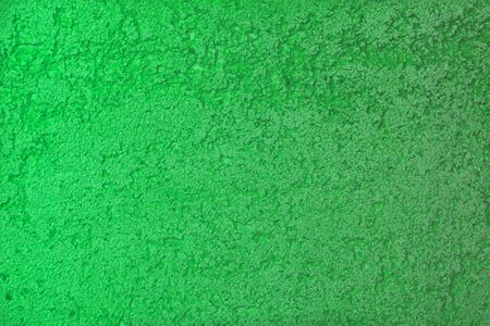 pretty aged green limestone like stucco texture for any purposes. Stock Photo