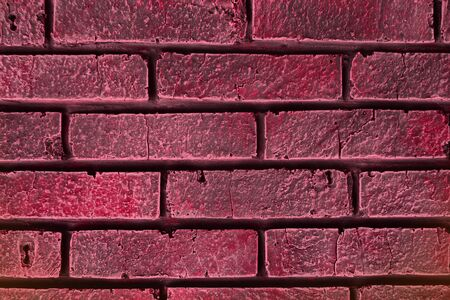 cute red vintage vintage brick wall texture - abstract photo background