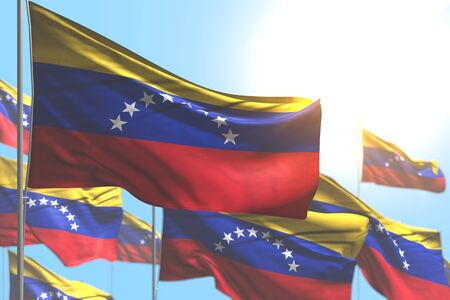 pretty national holiday flag 3d illustration