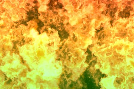 visionary burning fire abstract background or texture - fire 3D illustration