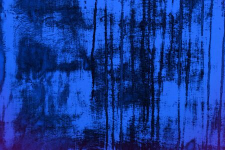 nice blue grunge scratched wooden plank texture - abstract photo background