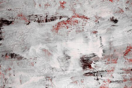 pretty red very much weathered panel paint texture - abstract photo background