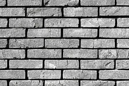 pretty design grunge brick wall texture - abstract photo background