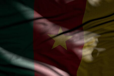 beautiful any holiday flag 3d illustration