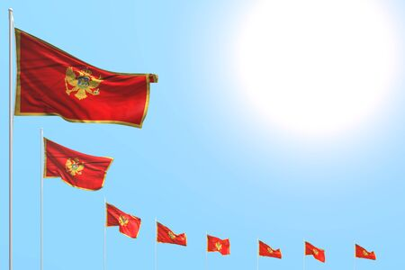 beautiful any occasion flag 3d illustration