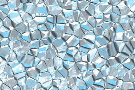 beautiful light blue metal like wild stone digital drawn background or texture illustration