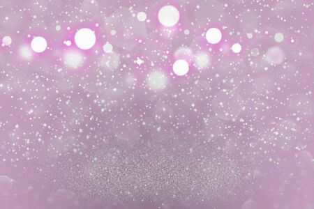 pink beautiful glossy abstract background glitter lights with sparks fly defocused bokeh - festival mockup texture with blank space for your content