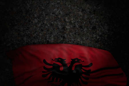 cute independence day flag 3d illustration