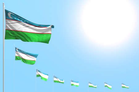 wonderful any holiday flag 3d illustration