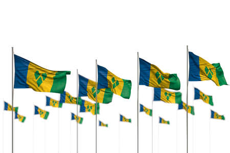 nice day of flag 3d illustration