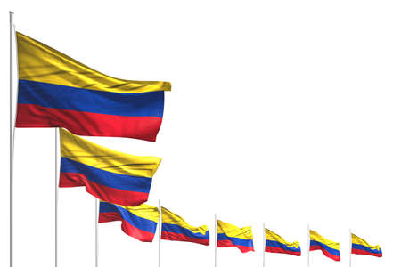 beautiful any feast flag 3d illustration