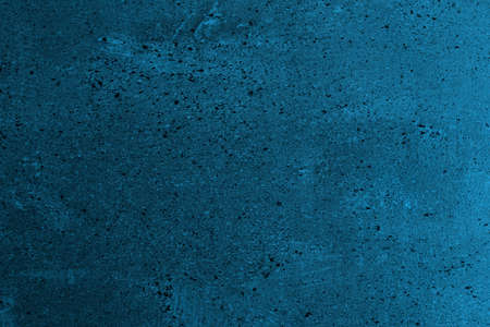 beautiful light blue spotted scratched cover on the wall texture - abstract photo background Archivio Fotografico
