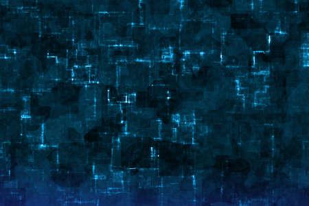 design nice light blue tech digital shining computer art background or texture illustration 版權商用圖片