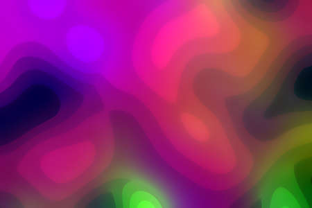 cute shiny vivid gradient abstract background of random contrast spots, tender night city concept - background design template