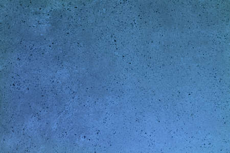 nice blue interspersed vintage paint on the block texture - abstract photo background 写真素材