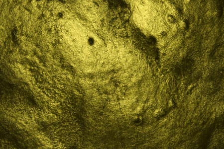 nice yellow creative painted bold stone texture - abstract photo background
