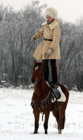 Russland, 16.01.2010g.Psovaya Jagd unter Mozhaiskom