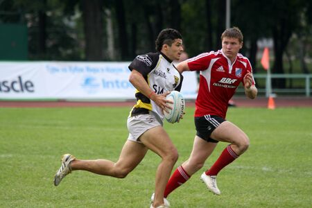 Russia. Moscow. July 3 2011. European Cup rugby-7