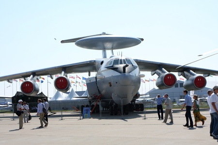 Rossiya.16 August 2011 10th International Aviation and Space Salon MAKS-2011 ``. In the photo: AEW Management and A-50.