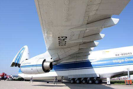 Rossiya.18 August 2011. 10th International Aviation and Space Salon MAKS-2011 ``. In the photo: An-124-100.