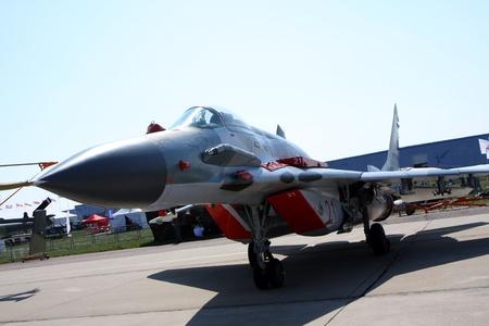 Rossiya.18 August 201110. International Aviation and Space Salon MAKS-2011 ``. Das Foto zeigt eine MiG-29 SMT. Editorial