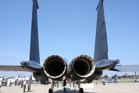 Rossiya.18 August 2011The 10th International Aerospace Show MAKS-2011 ``. This picture shows the F-15 Eagle Editorial