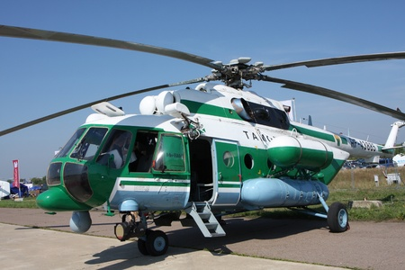 Rossiya.18 August 201110-th International Aerospace Show MAKS-2011 ``. This photo shows the Mi-8 helicopter AMT.