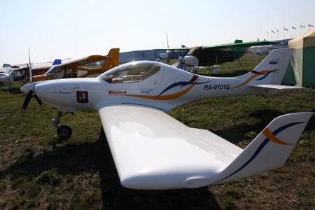 Rossiya.18 August 201110-th International Aerospace Show MAKS-2011 ``. This picture shows a light sport aircraft Aerospool Dynamic WT9 Editorial