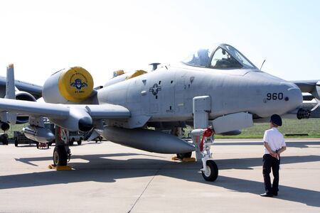 Rossiya.18 August 201110-th International Aerospace Show MAKS-2011 ``. This photo shows the attack aircraft A-10