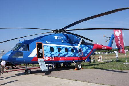 Rossiya.18 August 201110-th International Aerospace Show MAKS-2011 ``. In the photo: MI-382.