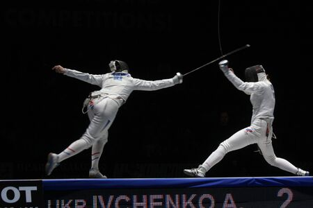 World Cadet and Junior Fencing Championships Moscow 2012 Stock Photo - 13062324