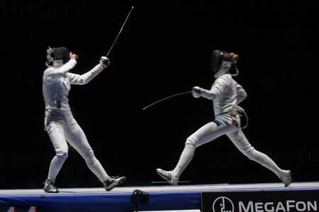 World Cadet and Junior Fencing Championships Moscow 2012